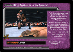 <i>Revolution</i> King Booker is In My Corner!
